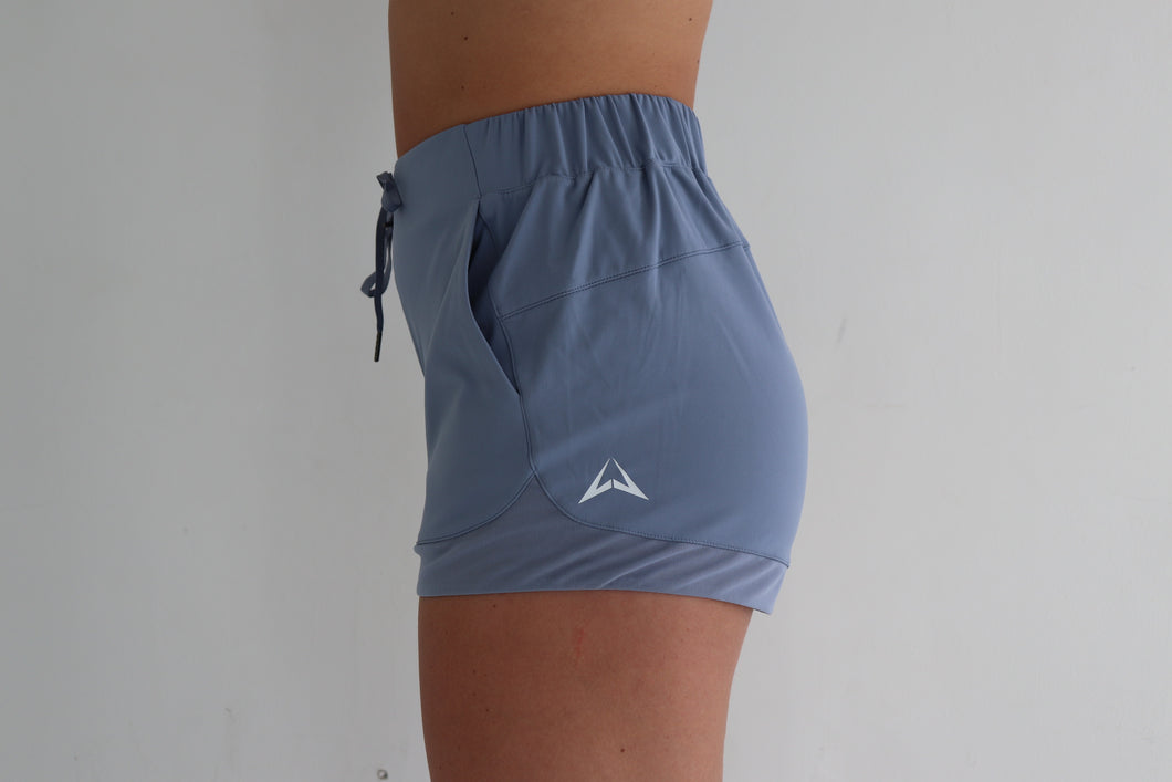 Zero Gravity Shorts - ice blue