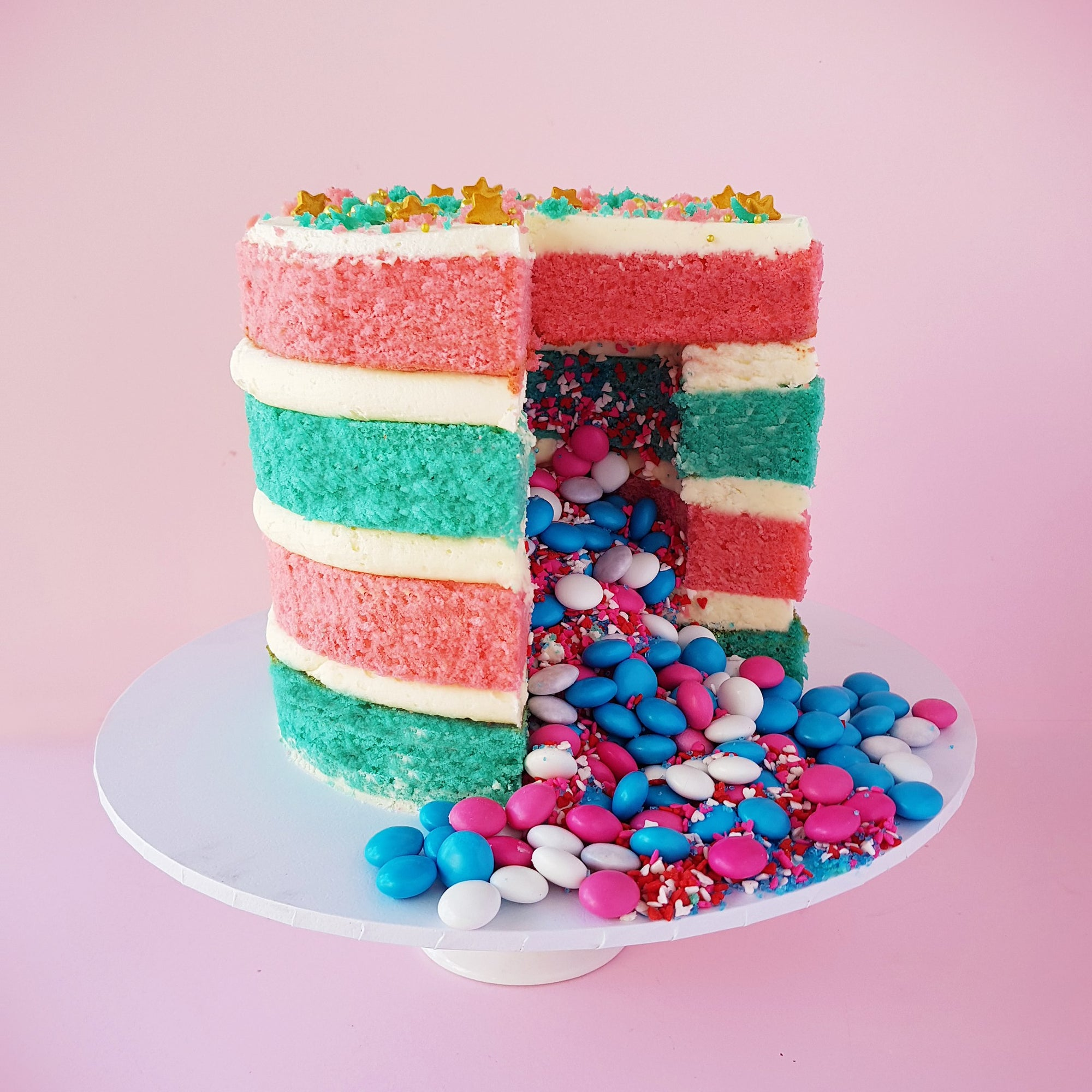 BVCLCakeR - Baby Gender Reveal Cake