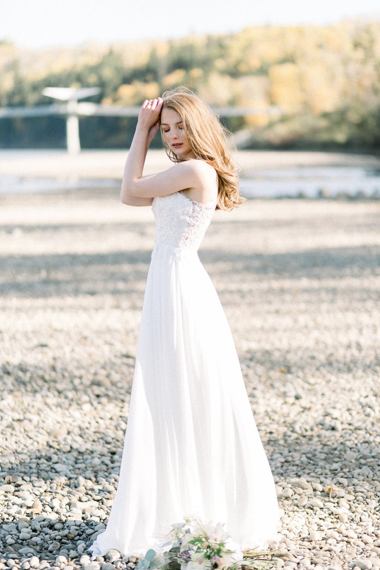 Sara's Fashion A-Line wedding Dress for prom and Grad