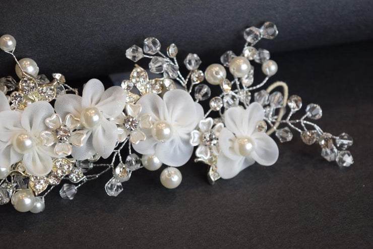 A117 Big Floral Hairpiece