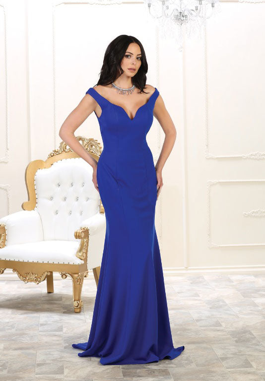 Blue Wedding Dress for prom and grad