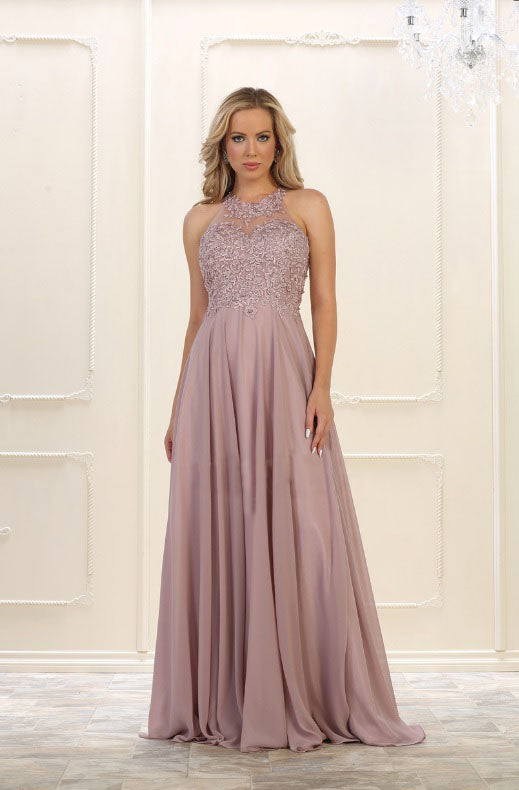 Beautiful long Wedding Maxi for Prom and Grad