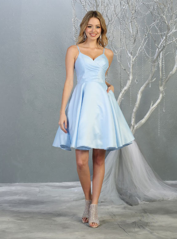 Sara's Fashion V-Neck wedding Dress in East Edmonton Mall
