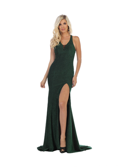 Sara's Fashion Emerald Green long maxi for grad prom in Edmonton