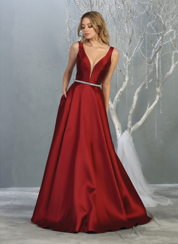 Sara's Fashion Long Wedding Gown In Canada