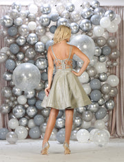 Short Party Wear dress  - Sara's Fashion