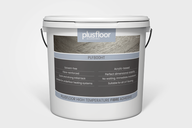 Plusfloor High Temperature Fibre Adhesive