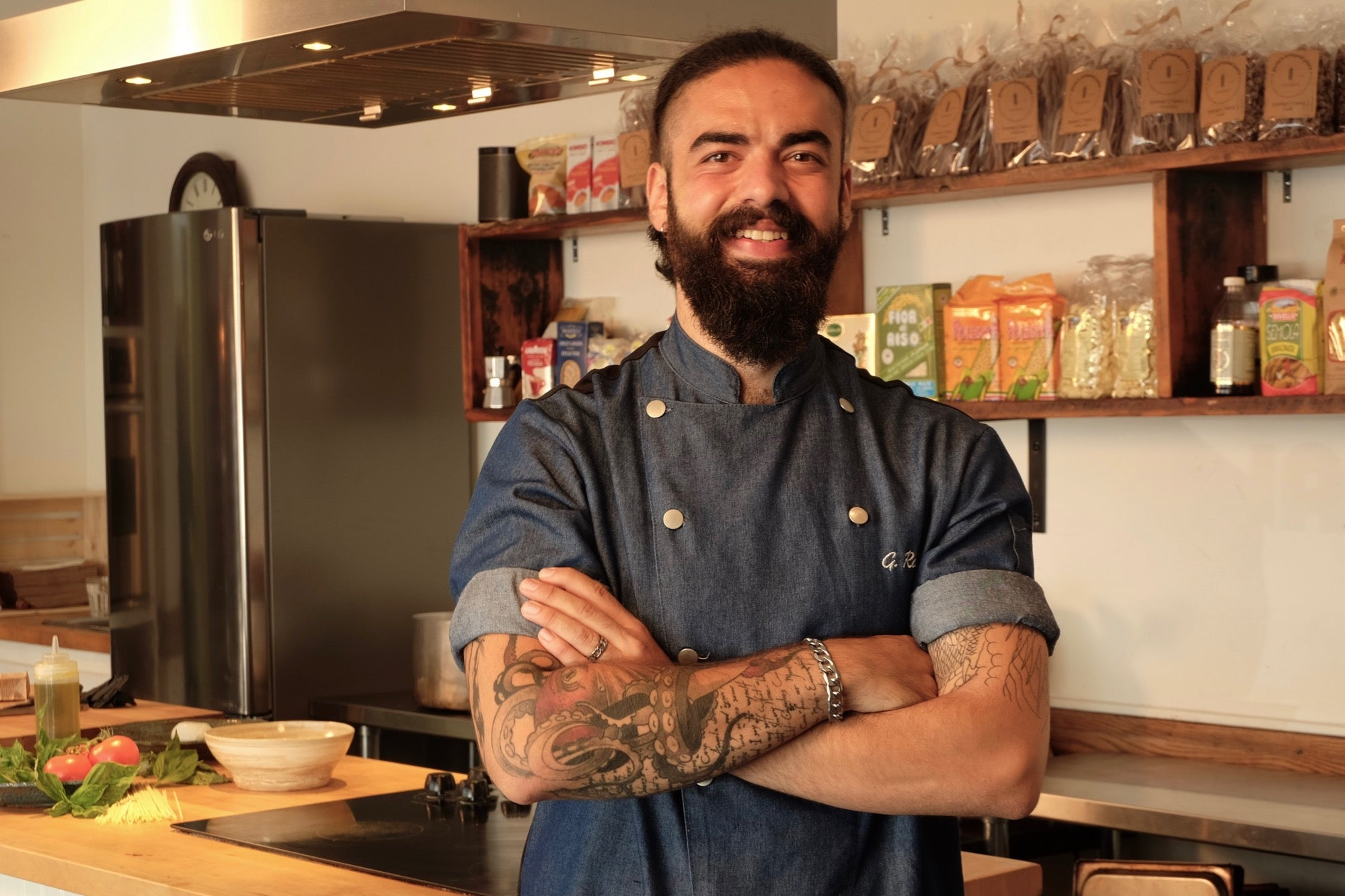 Chef Gianluca Ruggieri at Cucinato