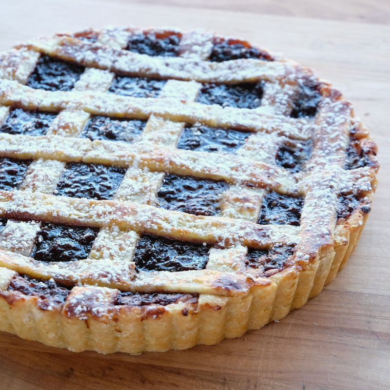 Blueberry Crostata - Whole