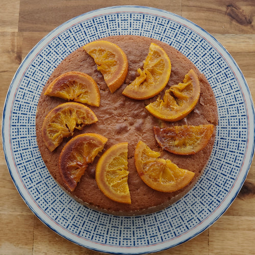 Torta all'Olio d'Oliva (Orange-Olive Oil Cake)