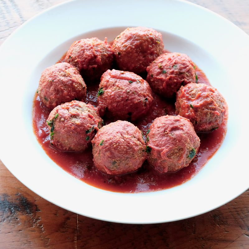 Polpette in Umido (Meatballs Cooked in Sauce)