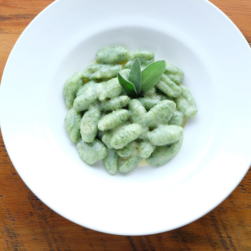 Homemade Spinach Gnocchi (Frozen)