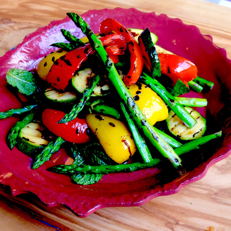 Verdure alla Griglia (Mixed Grilled Vegetables)