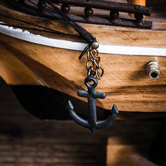 Mediterranean Wooden Boat Decor