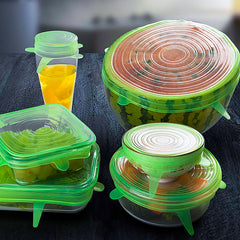 Reusable Silicone Food Lid Bowl Covers