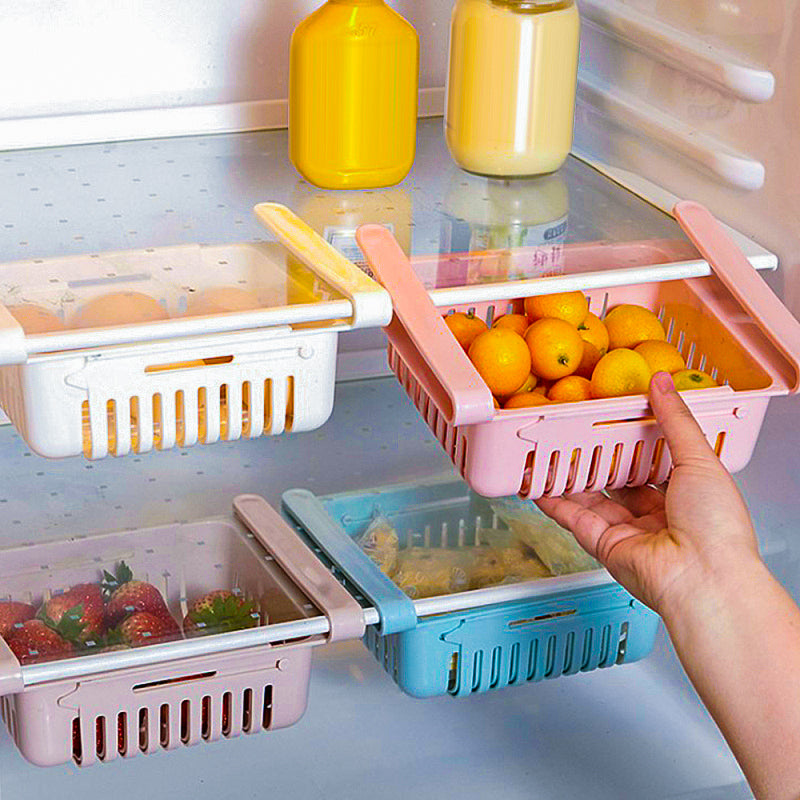 Stretchable Fridge Organizer
