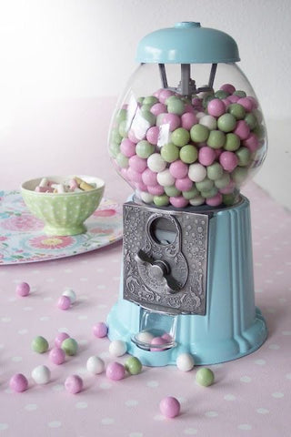 Gumball Dreams Classic Gumball Machine / Candy Dispenser - Light Blue