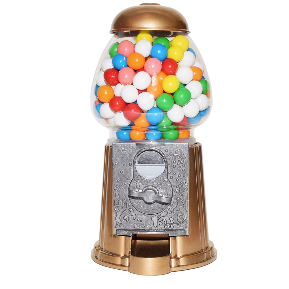 Gumball Dreams Classic Gumball Machine / Candy Dispenser - Gold