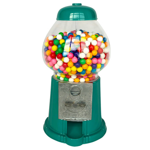 Gumball Dreams Classic Gumball Machine / Candy Dispenser - Teal Green