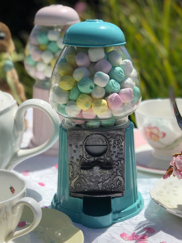 Gumball Dreams Classic Gumball Machine / Candy Dispenser - Turquoise