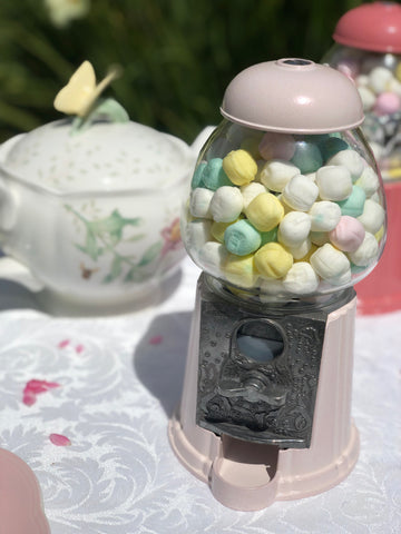Gumball Dreams Classic Gumball Machine / Candy Dispenser - Tea Rose