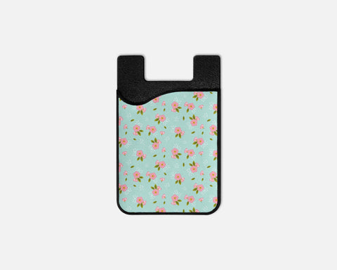 Grandma's Flowers Phone Card Caddy