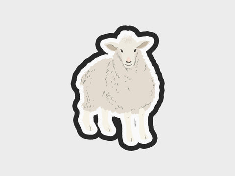 Whimsical Sheep Fe. Cutter | Lg Whim. Pets Volume 1 Cutter