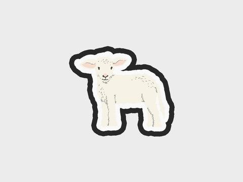 Whimsical Sheep Baby Cutter | Lg Whim. Pets Volume 1 Cutter