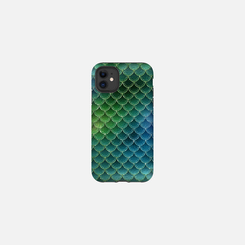 Sea Venom Glittered Mermaid Scales Tough Case