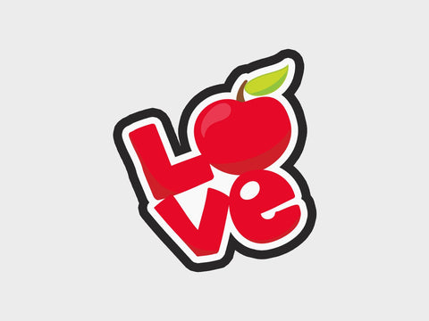 Love Apple Cutter | Back-2-School Volume 1 Cutter