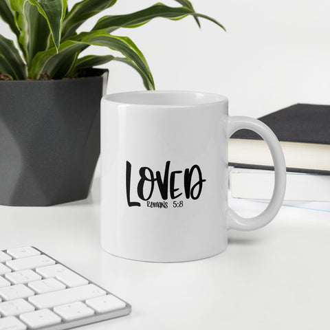 Loved Christian Word Vol. 1 Mug