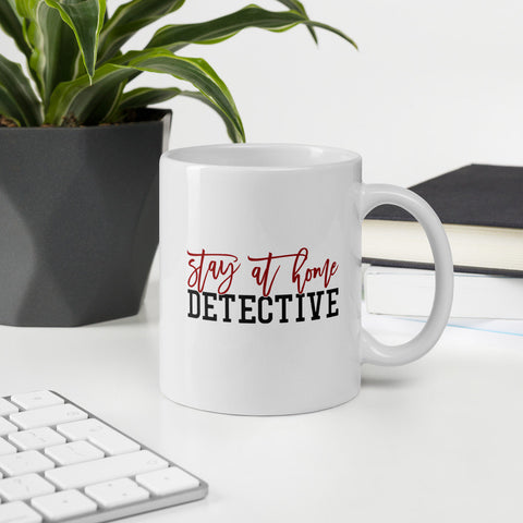 Stay At Home Detective True Crime Vol. 1 Mug