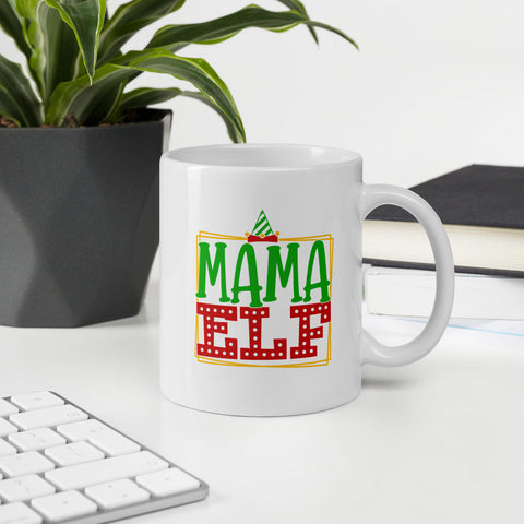 Mama Elf Winter Plus Vol. 1 Ceramic Mug