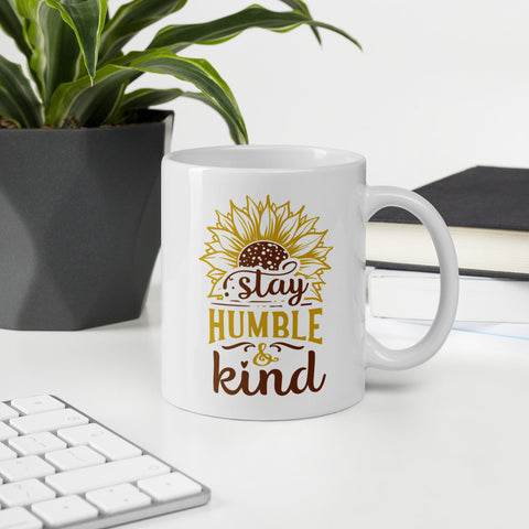 Stay Humble & Kind Sunflower Vol. 1 Mug