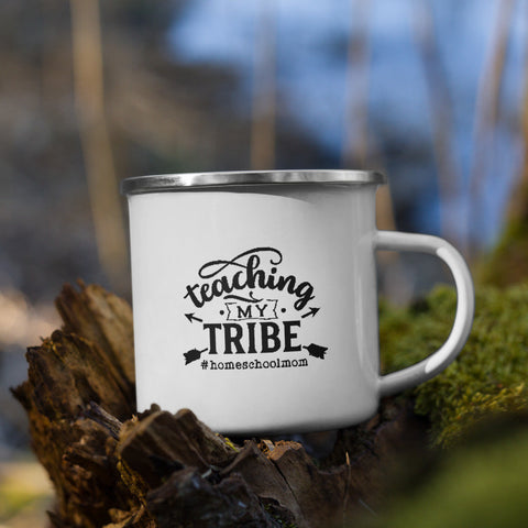 Teaching My Tribe #homeschoolmom Homeschool Vol. 1 Camp Mug