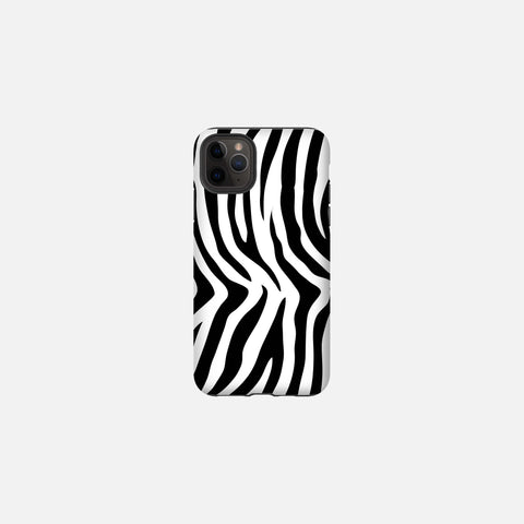 Zebra Print Tough Case