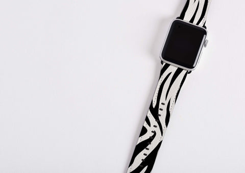 Zebra Print  Apple Watch Band
