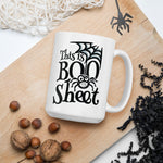 Spider Mask Web This is Boo Sheet Ghost Boo Sheet Vol. 1 Ceramic Mug