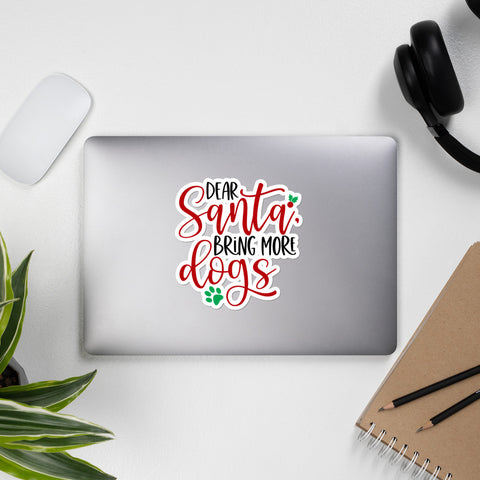 Dear Santa Bring More Dogs Winter Plus Vol. 1 Sticker
