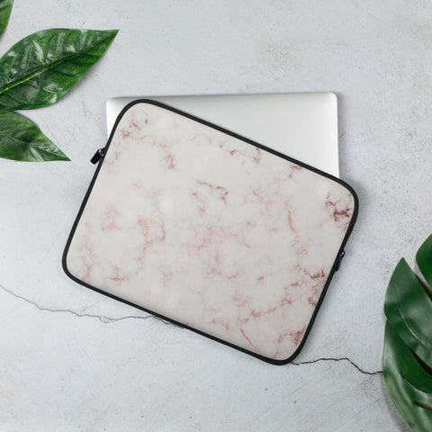 Rose Marble Laptop Sleeve