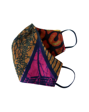Uganda Reversible 3-Layer Face Mask (Adult Unisex)
