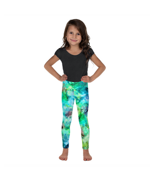 Load image into Gallery viewer, Green Goddess Kids Leggings (Age 18m - 7y)