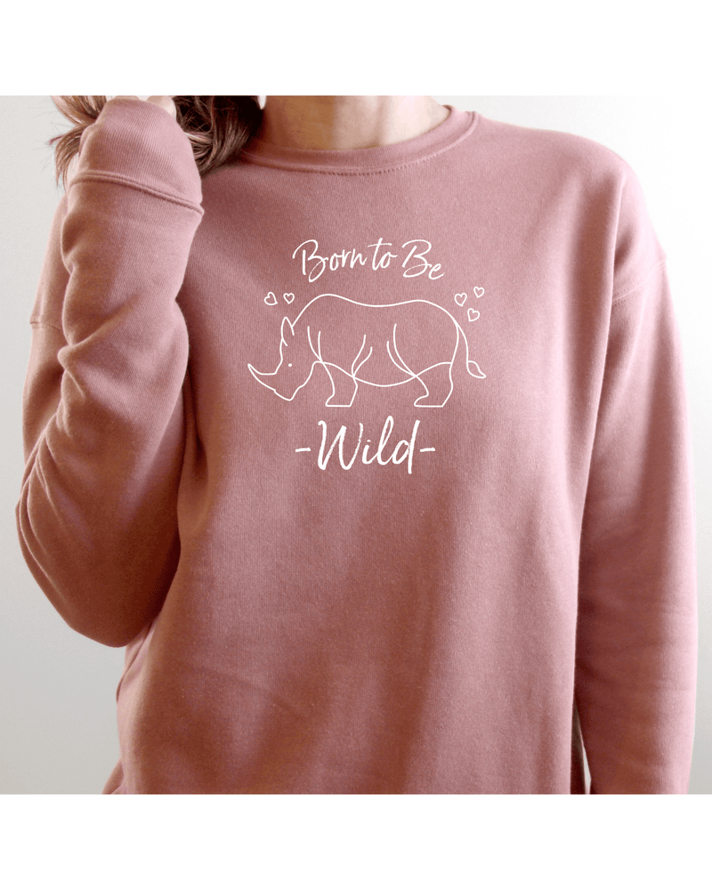 Load image into Gallery viewer, Born to Be Wild Cosy Sweatshirt (Unisex)