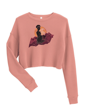 Load image into Gallery viewer, Mama Africa Cropped Sweatshirt