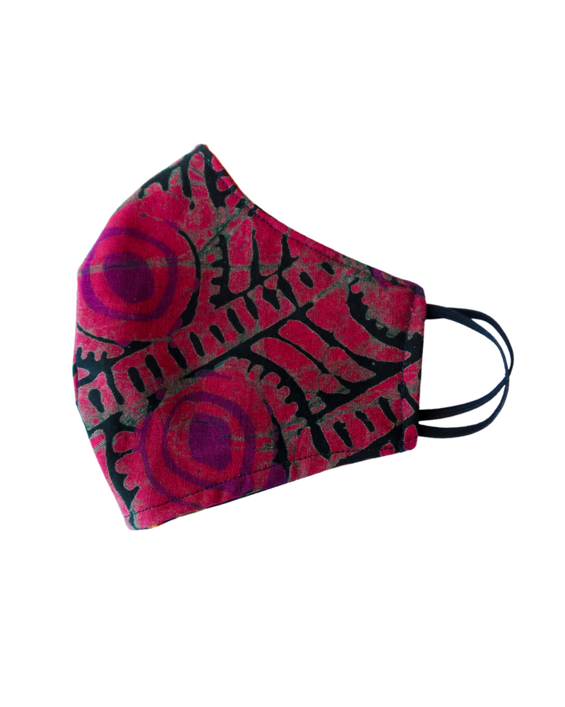 Malawi Reversible 3-Layer Face Mask (Adult Unisex)