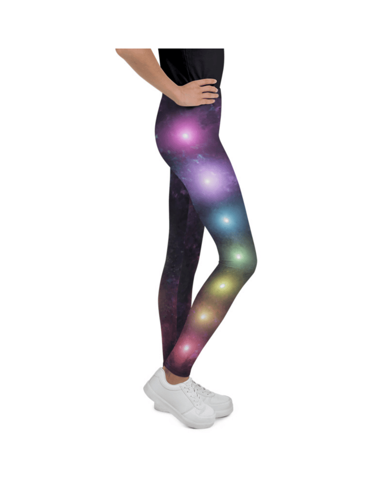 Chakra Galaxy Youth Leggings (Age 7 - 14y)
