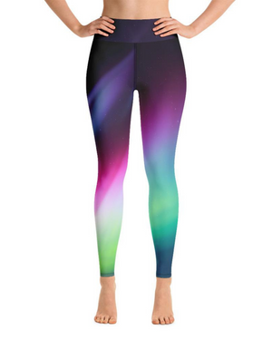 Load image into Gallery viewer, Aurora High-Waisted Yoga Leggings