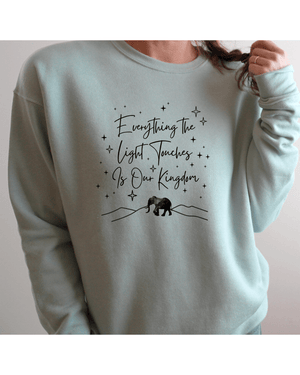 Everything the Light Touches Cosy Sweatshirt (Unisex)