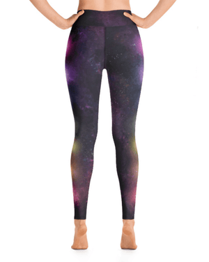 Load image into Gallery viewer, Chakra Galaxy High-Waisted Yoga Leggings