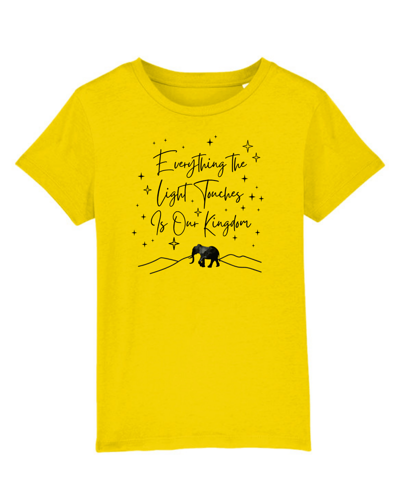 Everything the Light Touches Kids T-Shirt